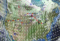 Layered Earth Meteorology Middle School/High School Weather Forecasting Data Feature