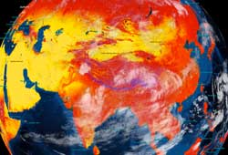 Layered Earth Meteorology Middle School/High School Seasonal Temperature Data Feature
