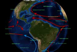Layered Earth Physical Geography Higher Education Ocean Current Data Feature